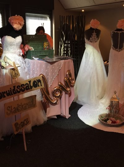 Trouwinspiratie beurs bruidsmode