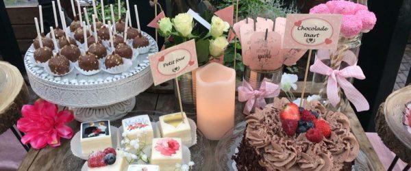Bruidstaart sweettable 3