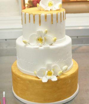 Bruidstaart drip cake lisette's taarten