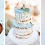 Bruidstaart drip cakes