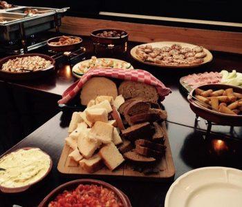 herfstbruiloft buffet